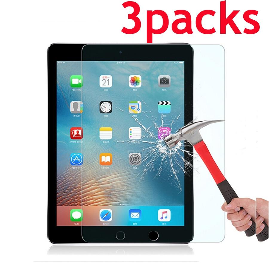 3Packs vidro protetor de tela para Samsung galaxy tab S S2 S3 S4 S5E S6 lite 10.4 P610 SM-T860 10.5 9.7 T710 T810 T820 T830 T720