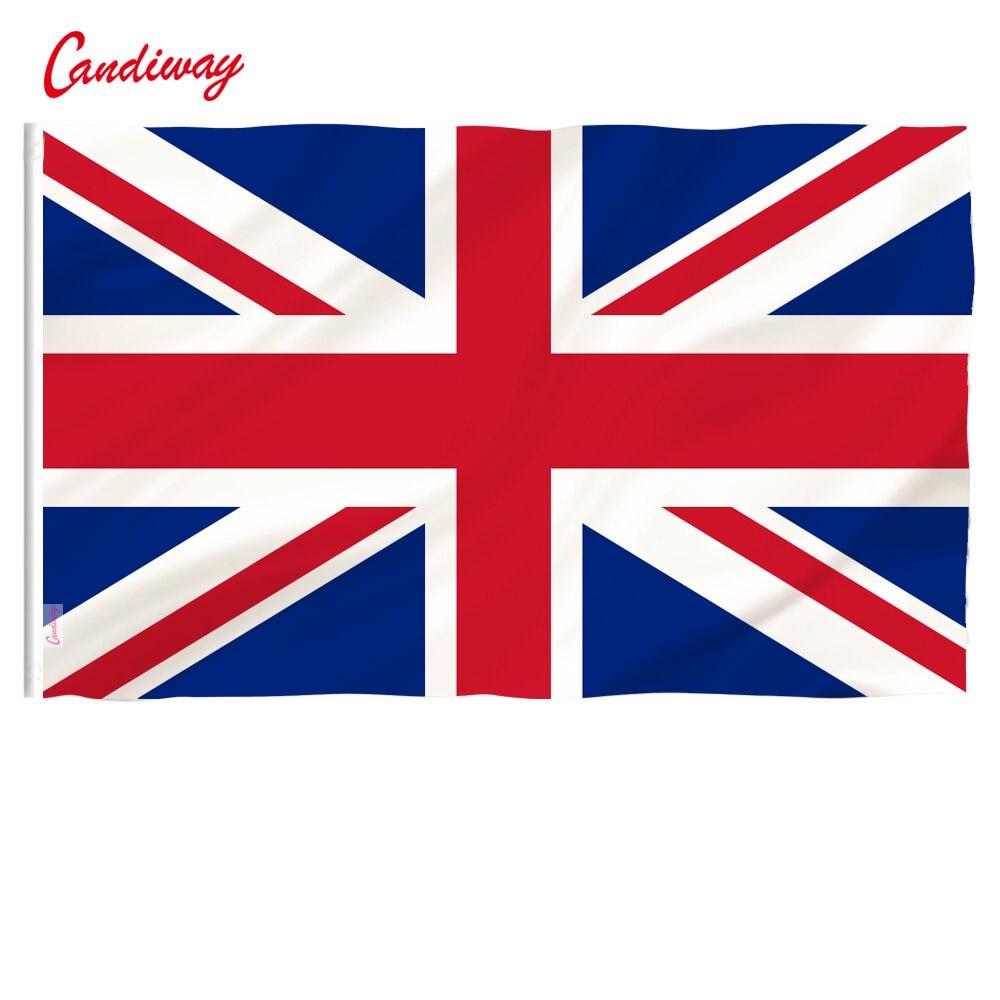 Флаг Великобритании candiway, английский флаг, Английский флаг, английский флаг, 90x150 см