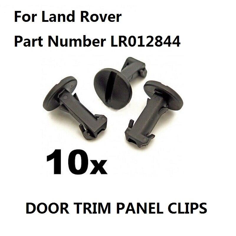X10 для Land Rover Discovery 4 & Range Rover буксировочные зажимы для крышки глаз, зажимы для обрезки бампера, LR012844, новинка