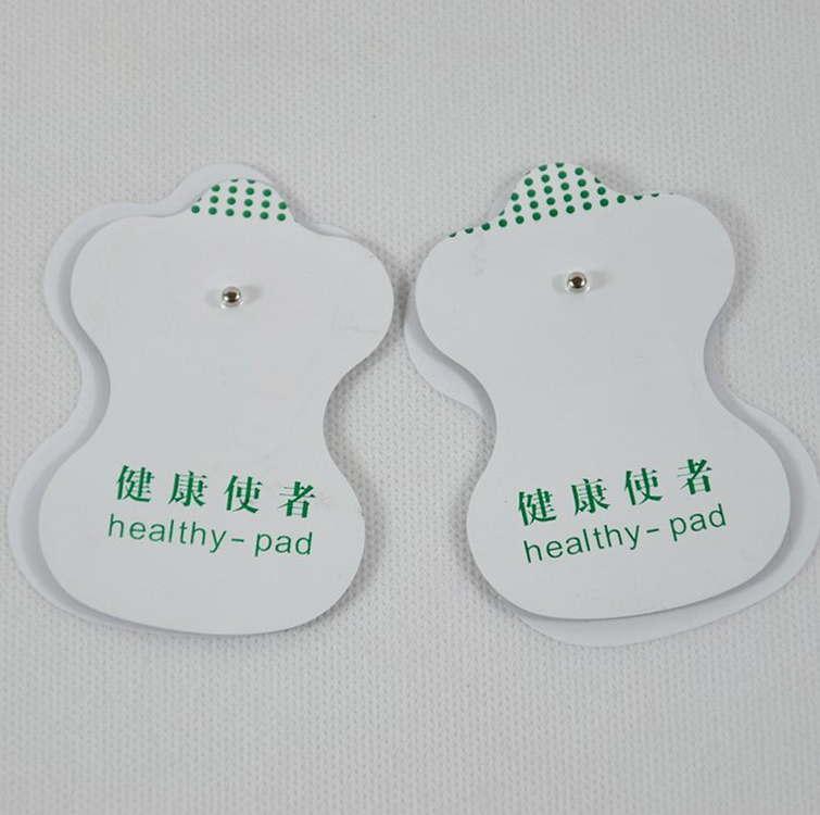 Bloco de Eletrodo dezenas de Acupuntura Do Corpo Máquina de Terapia Massageador Terapêutico massageador corporal Estimulador De Pulso Masajeador