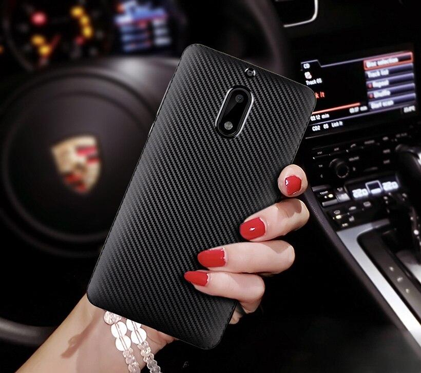 Силиконовые чехлы Ojeleye для Nokia 7 Plus, чехлы из углеродного волокна для Nokia 1 2 3,1 5,1 6,1 6 8 9, Противоударная задняя крышка