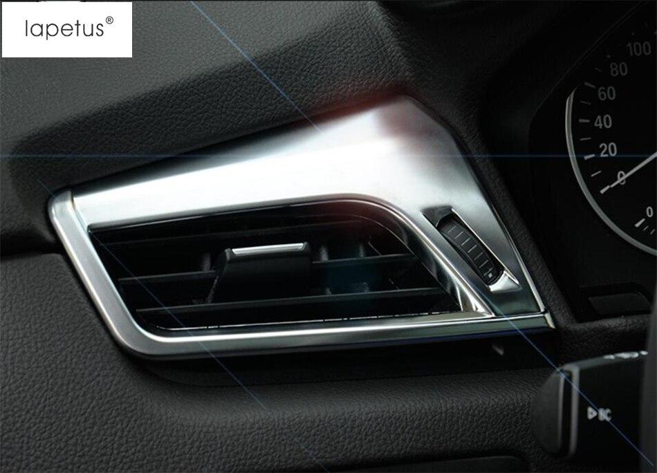 Accesorios para BMW 2 Series Gran activo Tourer F45 F46 2015-2019 dentro de la cubierta de moldeo por ventilación de salida de aire acondicionado kit de ajuste