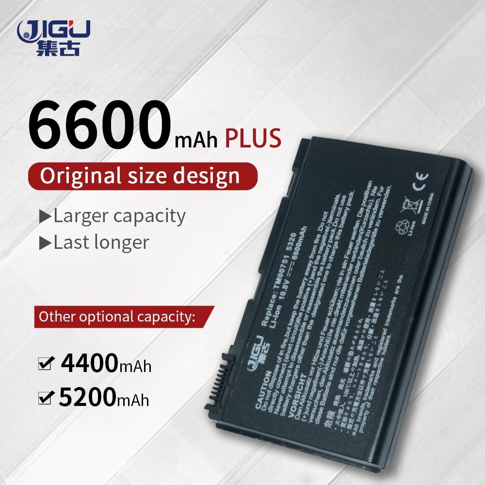 JIGU 6 celdas de batería del ordenador portátil para Acer TravelMate 6592 de 6592G 7220G 7220G 7320G 7520 de 7520G 7720G 7720G