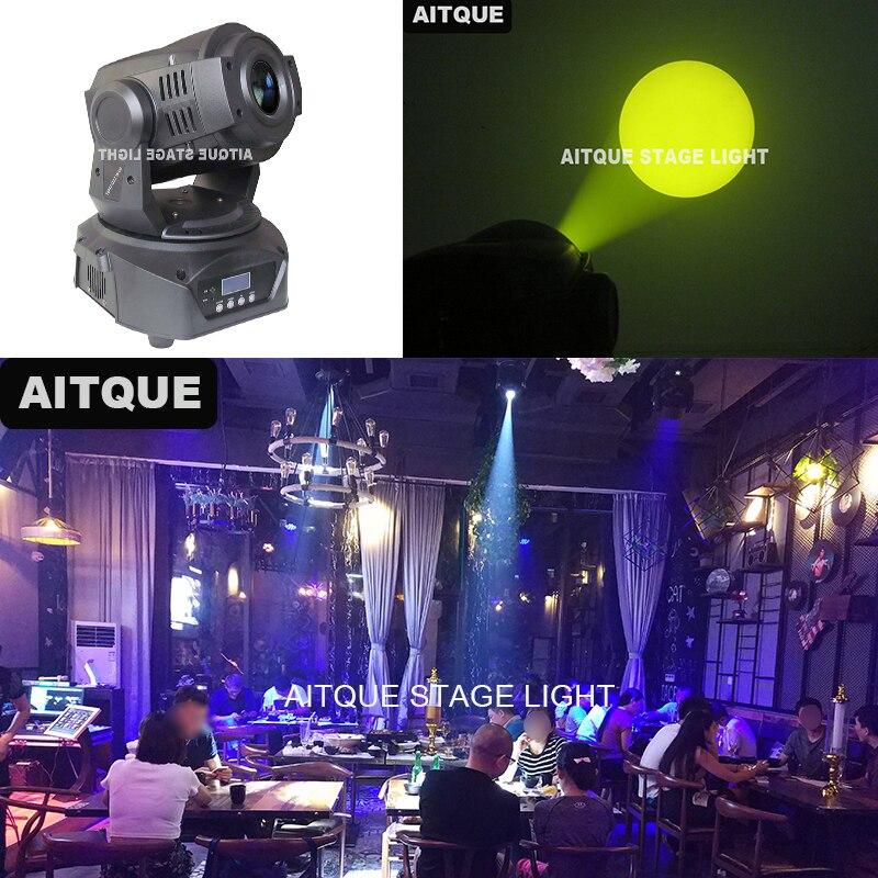 20 unids/lote Dj efecto disco iluminación lyres 90w focos para club nocturno profesional gobo iluminación con cabeza giratoria