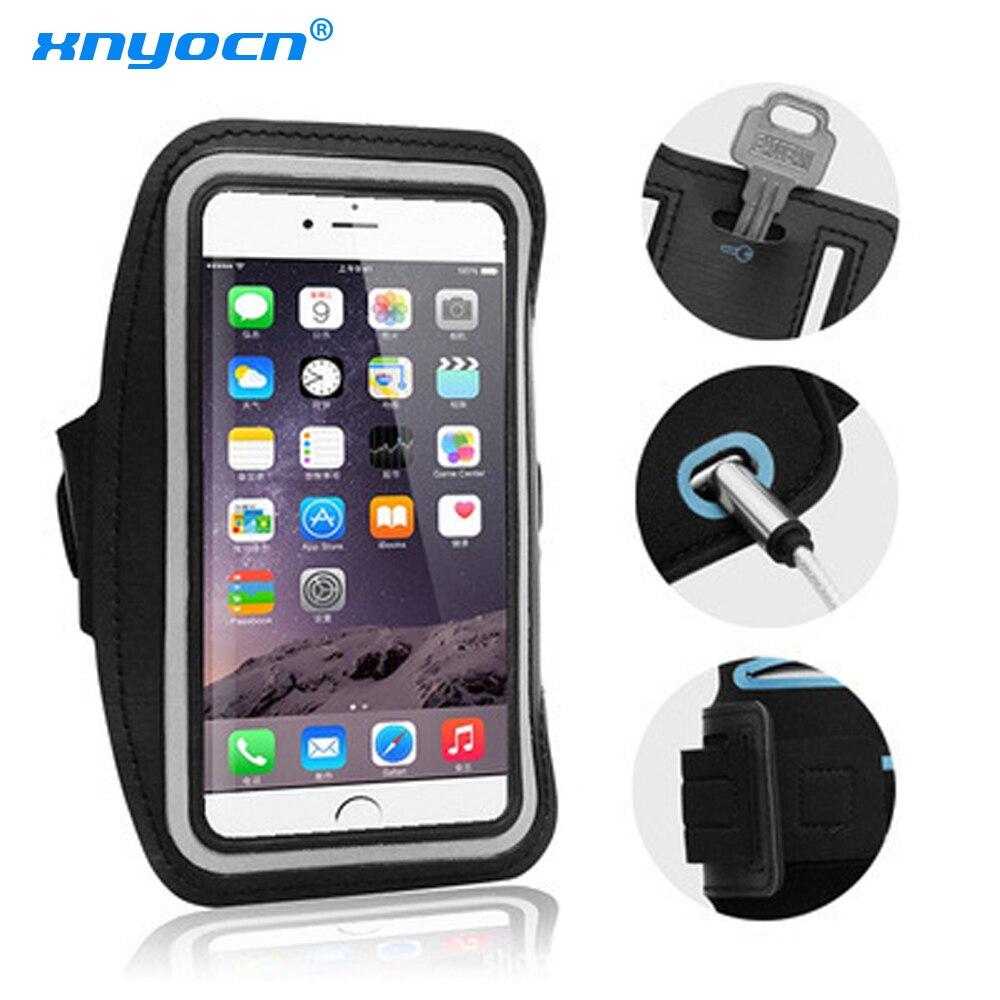 Универсальный Водонепроницаемый спортивный браслет Xnyocn для бега регулируемый