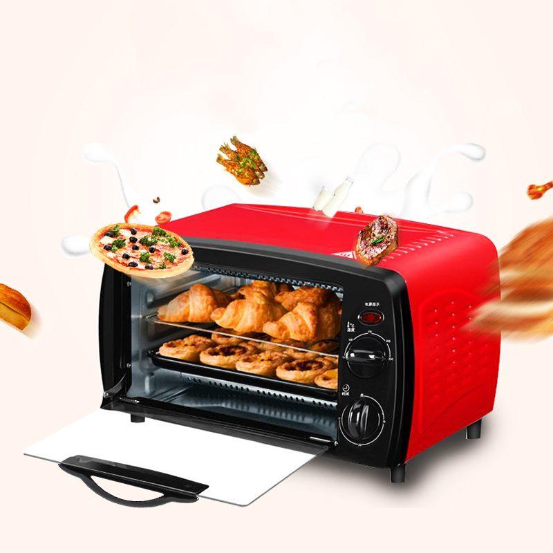 12L المنزلية الصغيرة ذكي توقيت الخبز المنزل الحياة الكهربائية فرن المطبخ آلة تحميص الخبز فرن كهربائي ماكينة الخبز