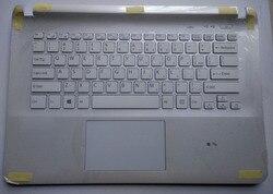Новинка для Sony SVF144 SVF1441V6CP SVF1441V6CW SVF144B1EU SVF144B1ET Упор для рук на ноутбук английская Клавиатура США без подсветки белый