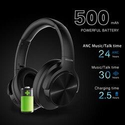 Mixcder E9 ANC активное шумоподавление Bluetooth наушники Беспроводная гарнитура HiFi глубокий бас с микрофоном для смартфона