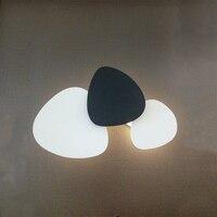 Nordic living room bedroom wall light modern minimalist wrought iron creative geometric combination wall lamp