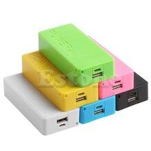 1 PC 5600mAh 5V USB Power Bank Case 18650 chargeur de batterie bricolage CASE pour téléphone portable US