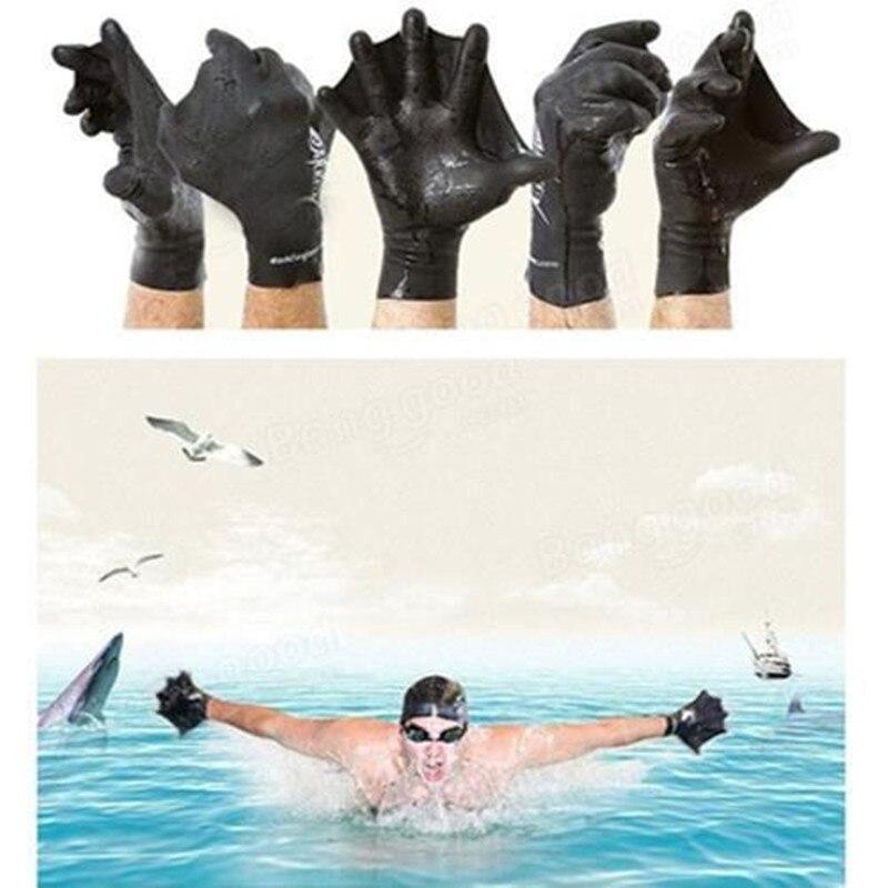 Guantes para Nadar con Correas de Buceo de Entrenamiento de ManosGuantes para Nadar con Dedos de RanaPaletaBuena ElasticidadDuradera y de Alta Calidad