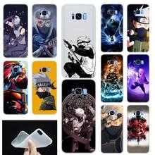 Naruto Kakashi shippuden Pattern Soft Phone Case Cover For Samsung Galaxy S6 S7 Edge S8 S9 S10 S11 Plus E Note 8 9 10Plus Etui