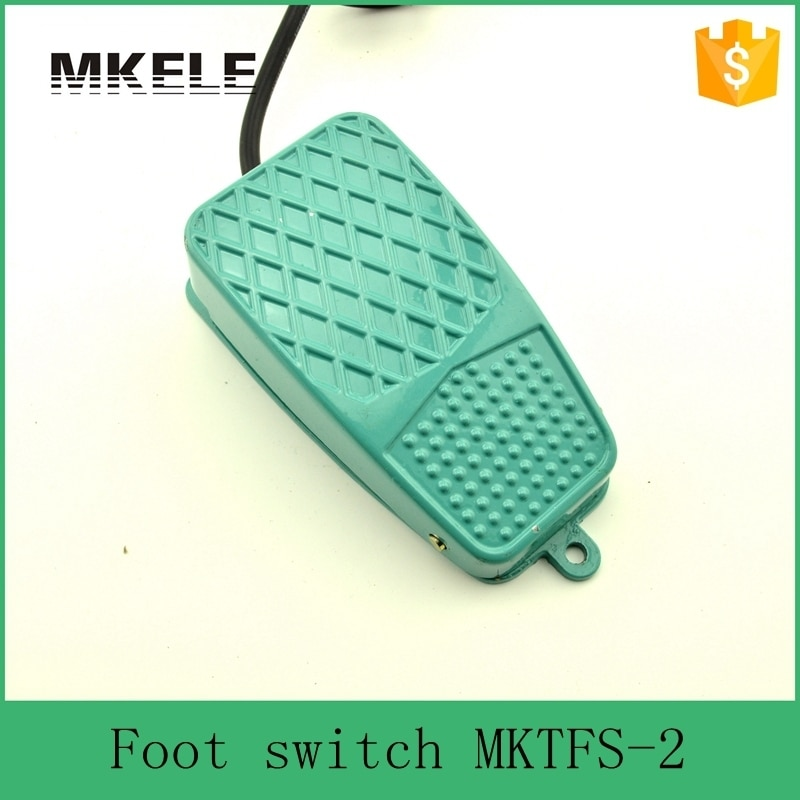 Interruptor de Pedal de contacto momentáneo con cable de fácil control MKTFS-2 CE estándar de alta calidad