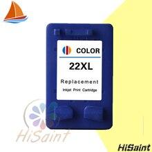 Hisaint Chaude Pour hp 22 pour hp 22 pour hp 22xl Cartouche Dencre pour Imprimante Deskjet D1360 D1460 D2360 D2460 3920 3940 F370F380 F2120 F2180