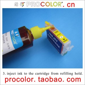PROCOLOR XP 176/177/178 CISS ink Refill Dye ink special for EPSON XP-225 XP225 XP-30 /XP-102 /XP-202 /XP-302 XP302/XP-402 XP402