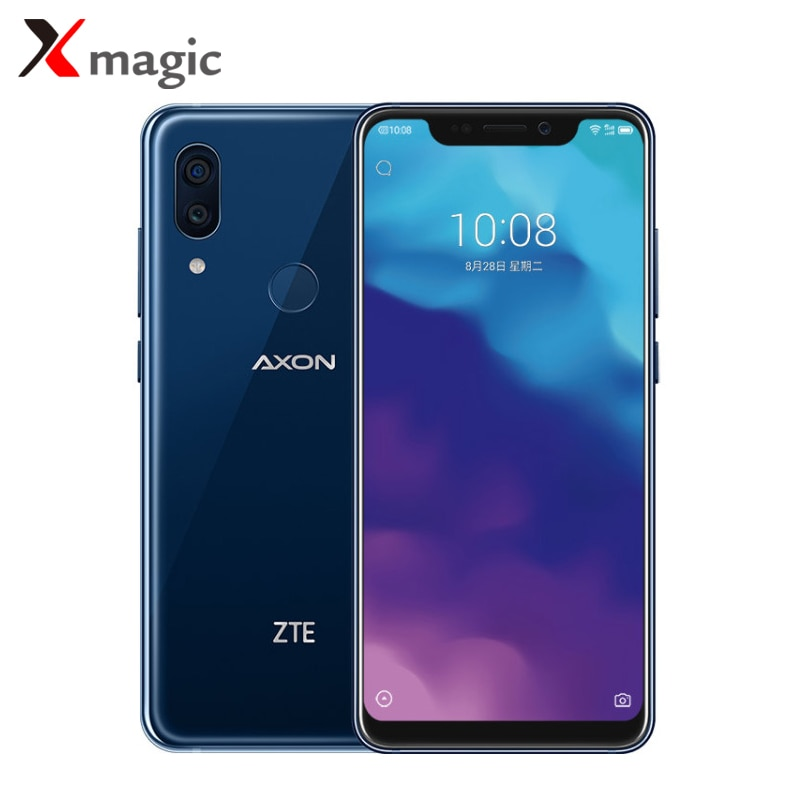 "Nuevo Original ZTE Axon 9 Pro Snapdragon 845 Octa Core 8GB RAM 256GB ROM Dual SIM 6,21 ""2248*1080 Dual cámaras Red Mundial"