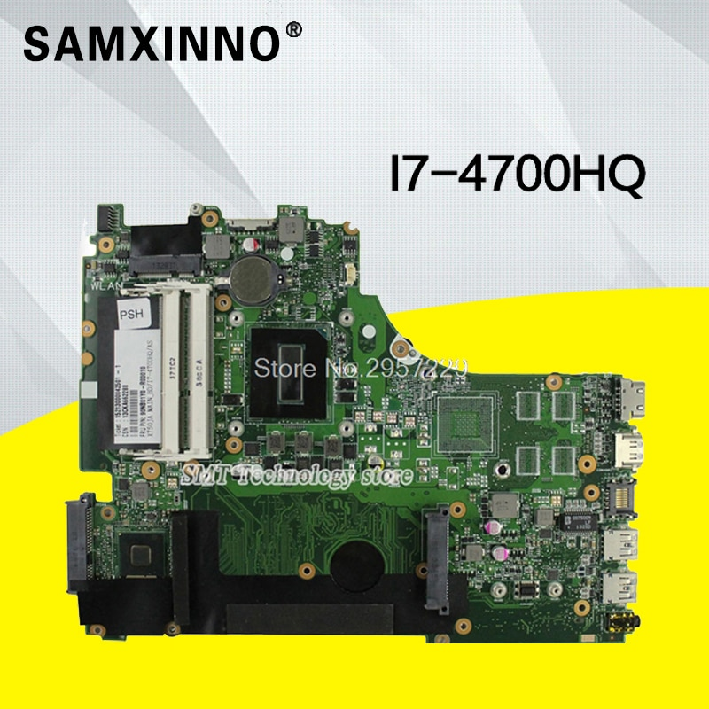 X750ja placa-mãe i7-4700HQ para asus k750j k750ja x750jb computador portátil placa-mãe x750ja placa-mãe teste 100% ok