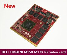 New original binding DELL HD6870 M15X M17X R2 notebook video card DDR5
