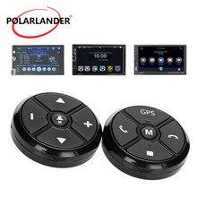 Commande universelle de volant de voiture   Clé musique sans fil DVD GPS boutons de Navigation, Radio noire, télécommande pour lecteur stéréo