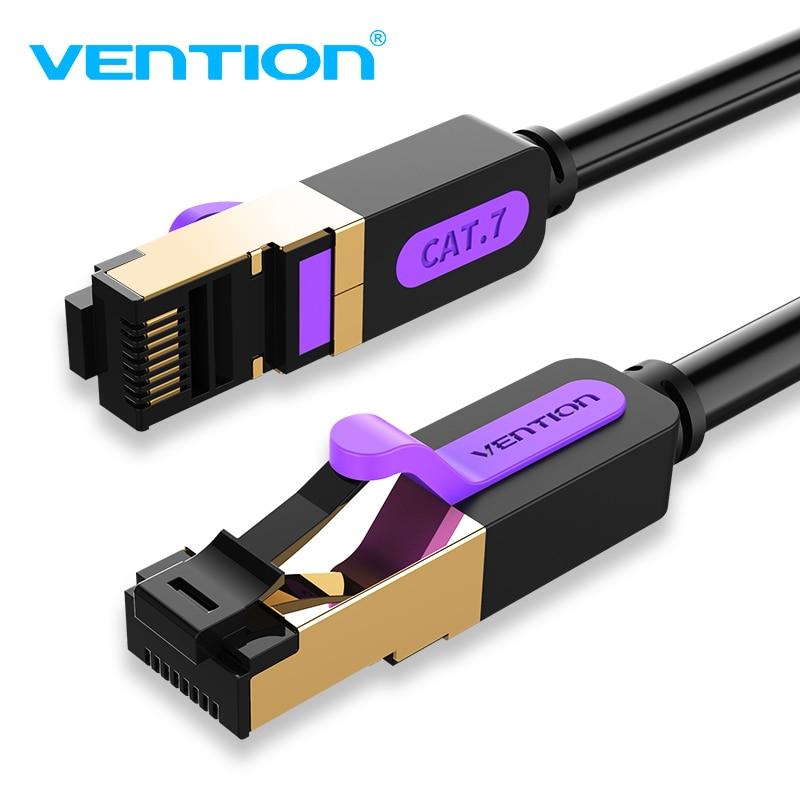Vention Ethernet Cable Cat7 RJ45 Lan Cable SSTP Network Internet 10m 15m Patch Cord Cable for PC Router Laptop Cable Ethernet