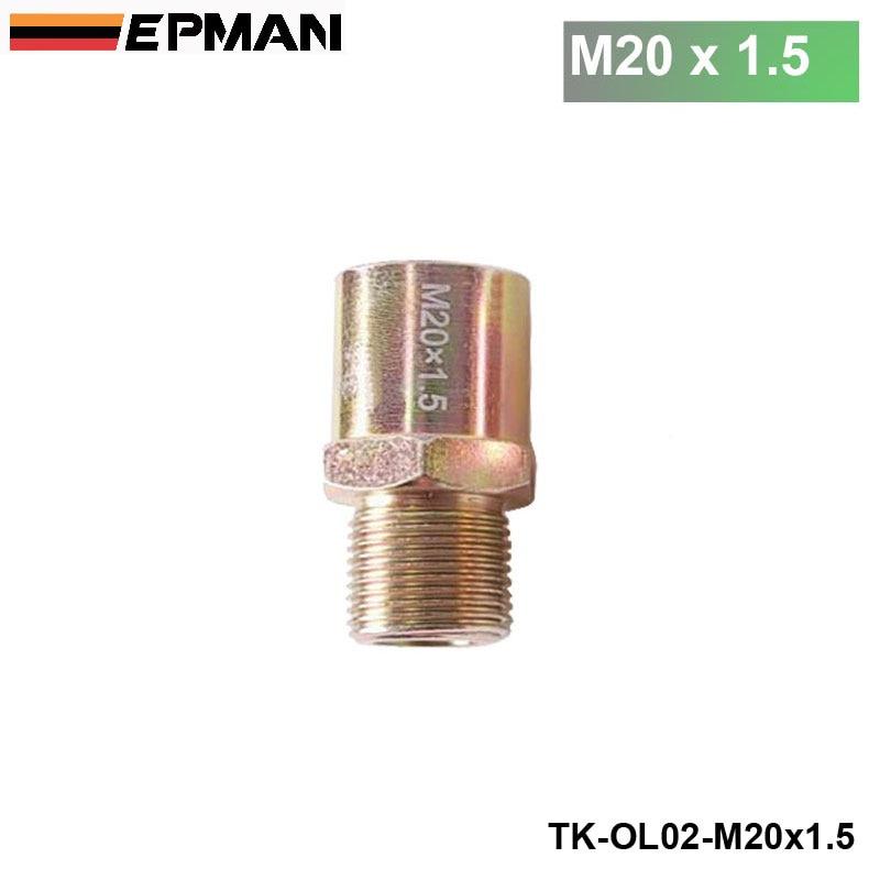 Jdm filtro de aceite adaptador de placa tipo sándwich Sensor M20x1.5 TK-OL02-M20 x 1,5