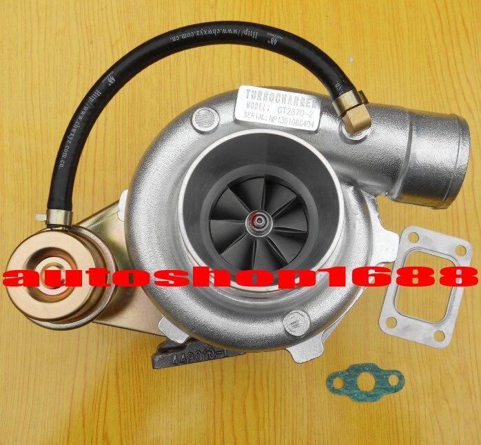 GT2870-2 GT28 GT2871 компрессор ar.60 турбина ar.64 T25 фланец с масляным охлаждением 5 болтов с приводом 250-400HP турбокомпрессор