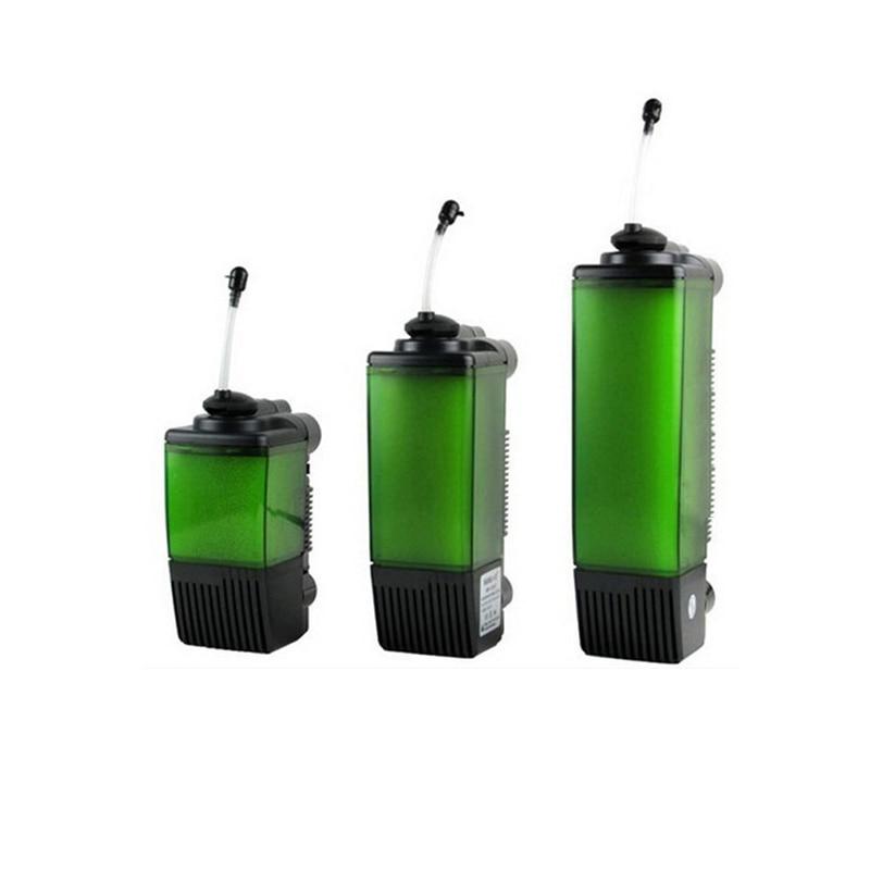 Mais novo super externo aquário filtro & oxigenação & bomba de água, esponja biológica para aquário filtro, bomba submersível spray