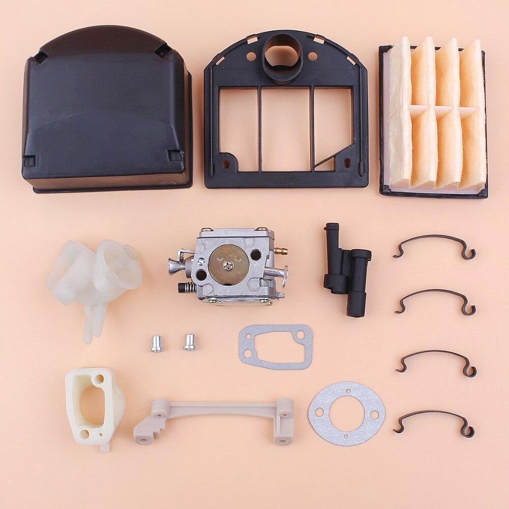 Carburador carb grommet filtro de ar capa kit reparação para husqvarna 266 268 272 xp 272xp motosserra 503280316