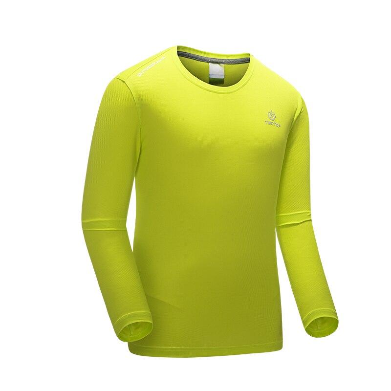 TECTOP 2019, nueva camisa deportiva para hombre, Camiseta deportiva transpirable para evitar la pesca, de manga larga Camiseta deportiva para hombre