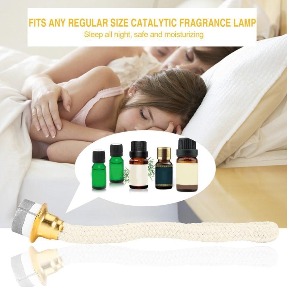 1 reemplazo para pc lámpara aceite de fragancia Wick difusor Quemador catalítico aromaterapia olor eliminación/deshumidificación para aceite esencial