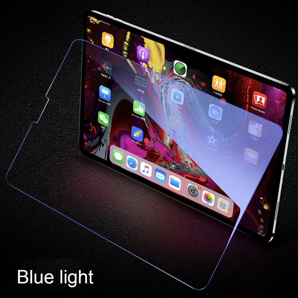 "Protector de pantalla para iPad 2018 Pro 12,9 pulgadas, WOWCASE película frontal de vidrio templado a prueba de arañazos para iPad Pro 2018 12,9 ""Tablet PC"