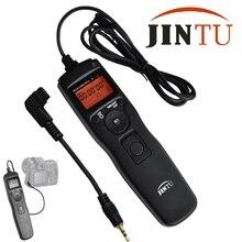 Jintu câmera lcd temporizador obturador liberação de controle remoto para sony a550 a580 a560 SLT-A100 a77 a65 a57 a55 a37 a35 a33 lapso de tempo
