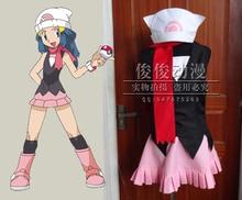 Pokemon poche monstres aube Hikari Cosplay déguisement
