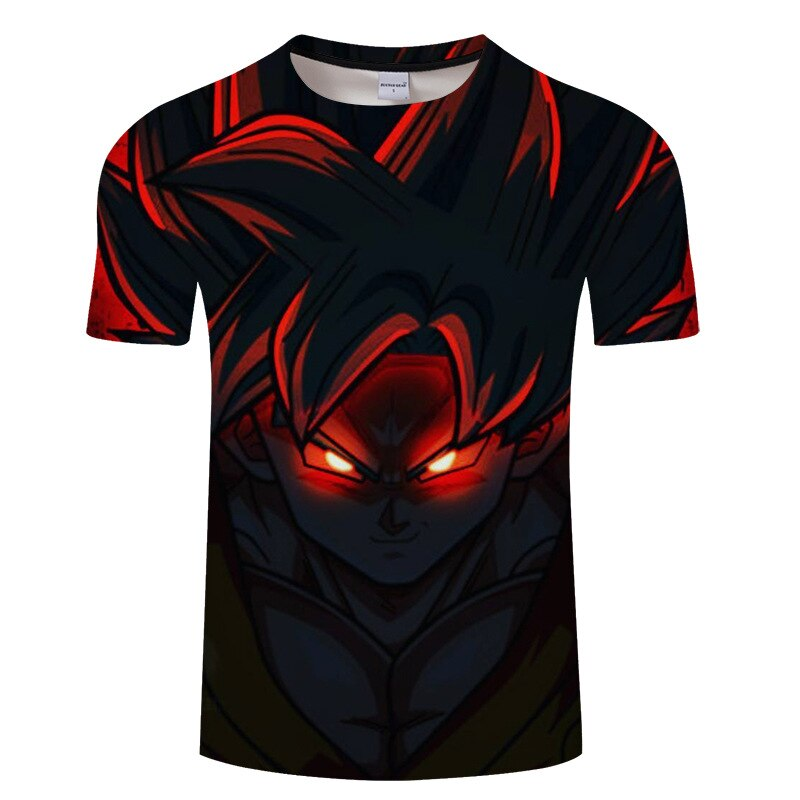 Dragon Ball 3D Print t-shirt Men Tops Tee Funny t shirt Short Sleeve Camiseta Halloween Streetwear Drop Ship Vegeta clothes