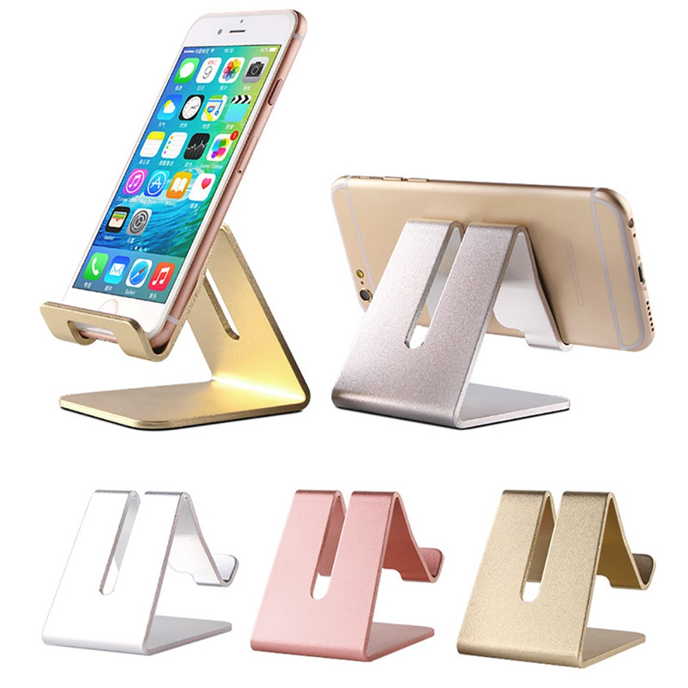 Soporte de escritorio de aluminio Noble soporte de mesa soporte de montaje para teléfono móvil tableta