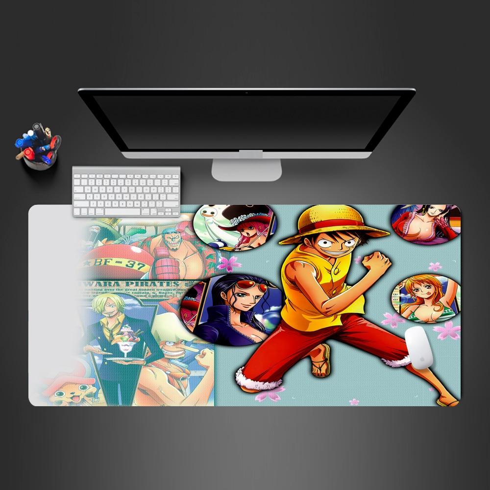 Anime Corsair Mousepad Hohe Qualität Gummi XL Maus Pad Locking Rand Große Maus Matte PC Computer Laptop tastatur Pad Geschenke
