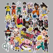 100 stuks Dragon Ball Stickers Super Saiyan Goku Stickers Decal Voor Snowboard Bagage Auto Koelkast Laptop Sticker