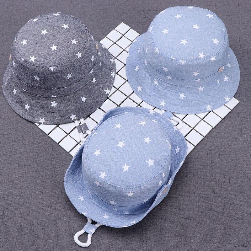 ילדי קיץ כובעי ילדים כוכב שמש כובעי עבור בני וכובעים חדש תינוק כובע דייג 6 חודשים עד 8 שנים