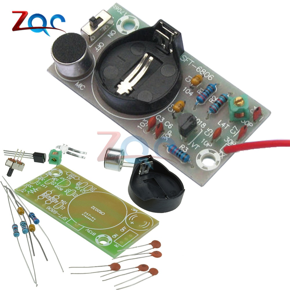 FM Transmitter Frequency Modulation Wireless Microphone Module DIY Kits Board Parts Simple Electroni