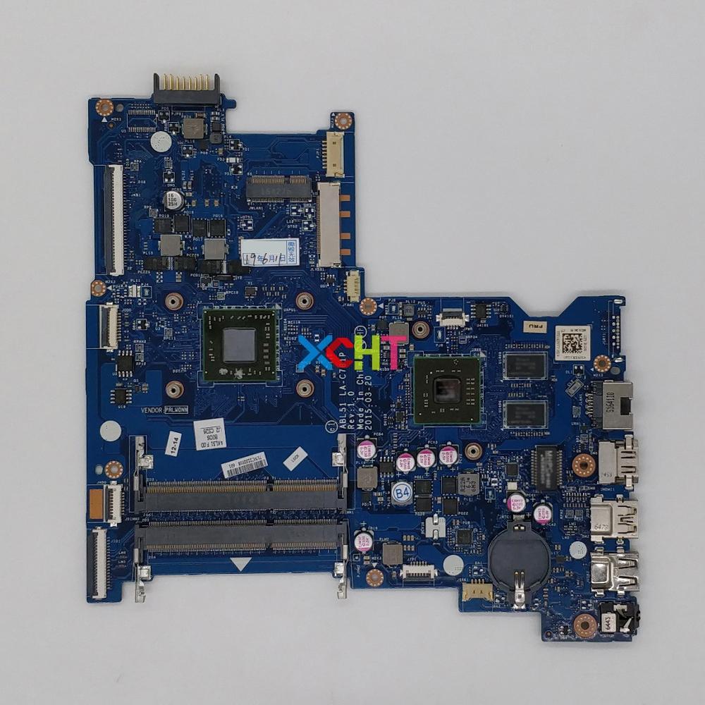 for HP NoteBook 15-AF Series 813971-601 813971-001 813971-501 ABL51 LA-C781P A8-7410 CPU R5M330/2GB GPU Laptop PC Motherboard