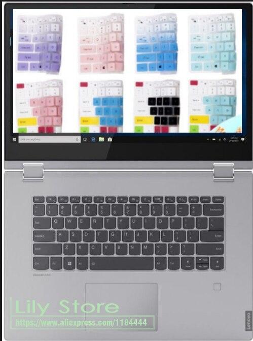 Para Lenovo IdeaPad S340 S340-14 API S340-14IWL S340-14API 14 pulgadas/C340-15IWL 15 15,6 ''cubierta protectora de la piel del teclado del ordenador portátil