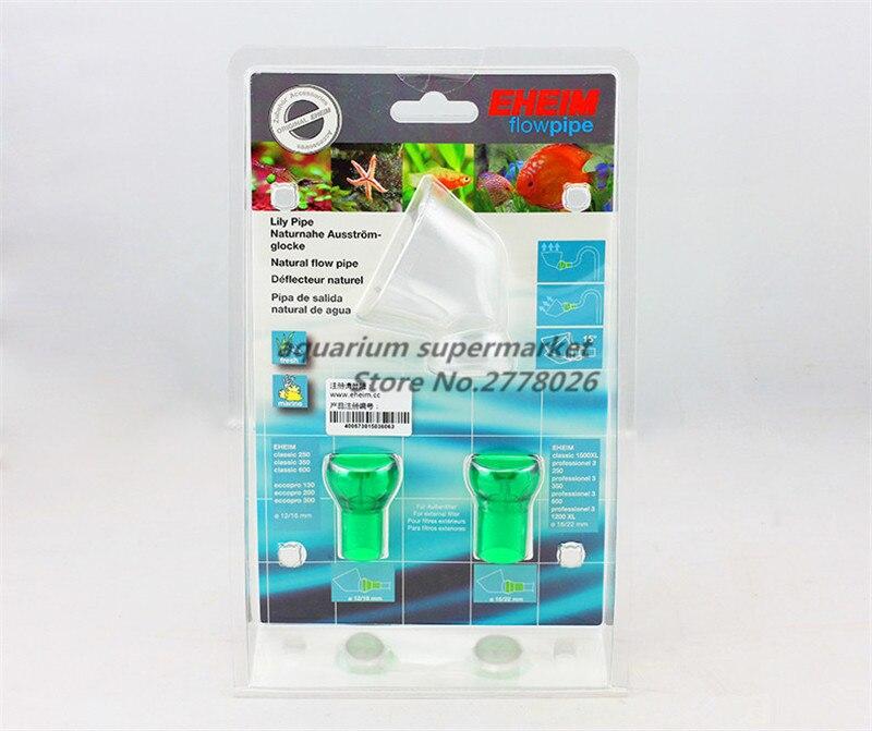 Accesorios para filtro de pecera HONGYI, 1 unidad, EIM, lily, salida de flujo Natural, 12/16mm, 16/22mm