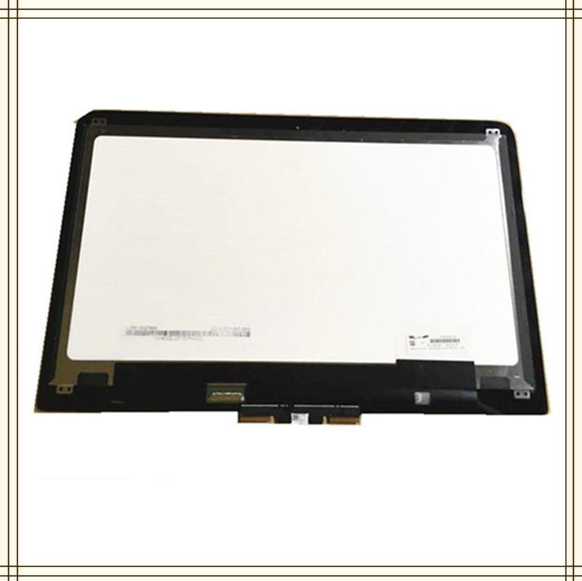 """13.3 """"Touch Screen digitador de vidro de 2560X1440 tela Do Laptop LCD Assembléia Para HP Spectre x360 13-4116TU 13-4005DX LCD exibição"""