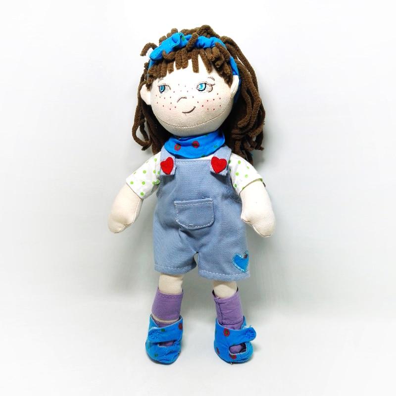 free shipping High quality baby to sleep soft handmade dolls children comfort soft toys cloth doll b