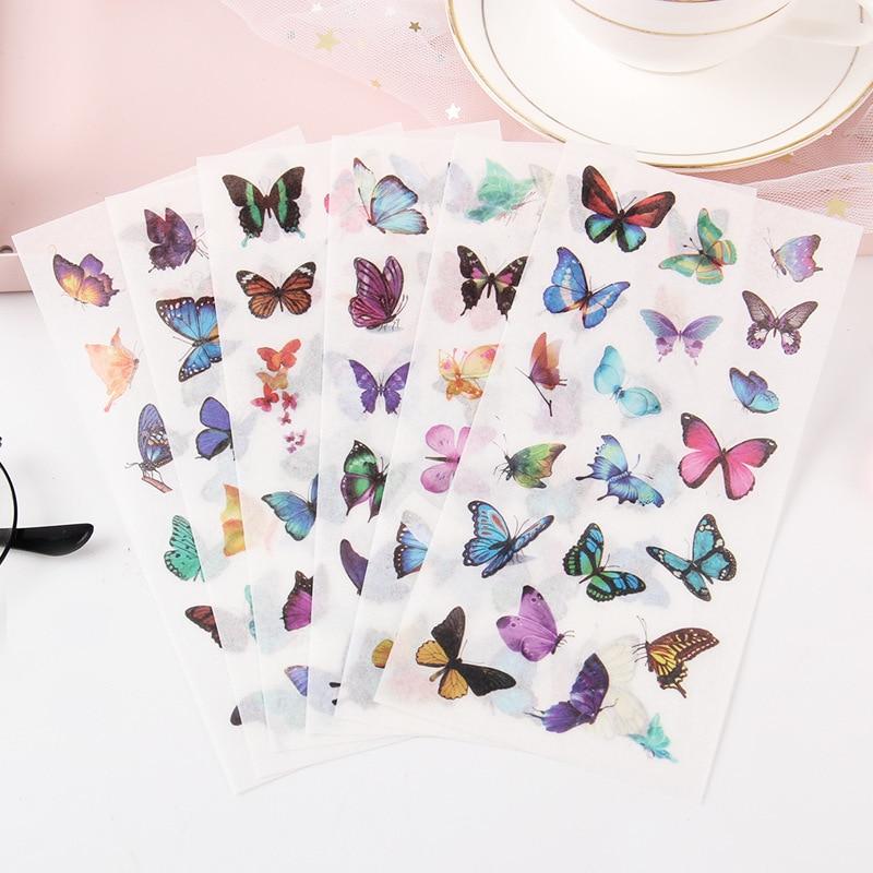 6-sheets-pack-kawaii-farfalle-che-volano-washi-autoadesivo-del-computer-decor-scuola-studente-di-cancelleria
