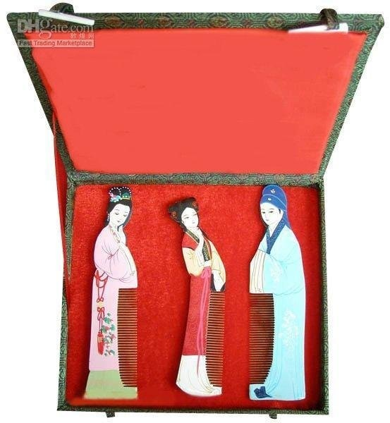 الكلاسيكية! بيع حار! هدايا مع الخصائص الصينية الغربية غرفة n568-570