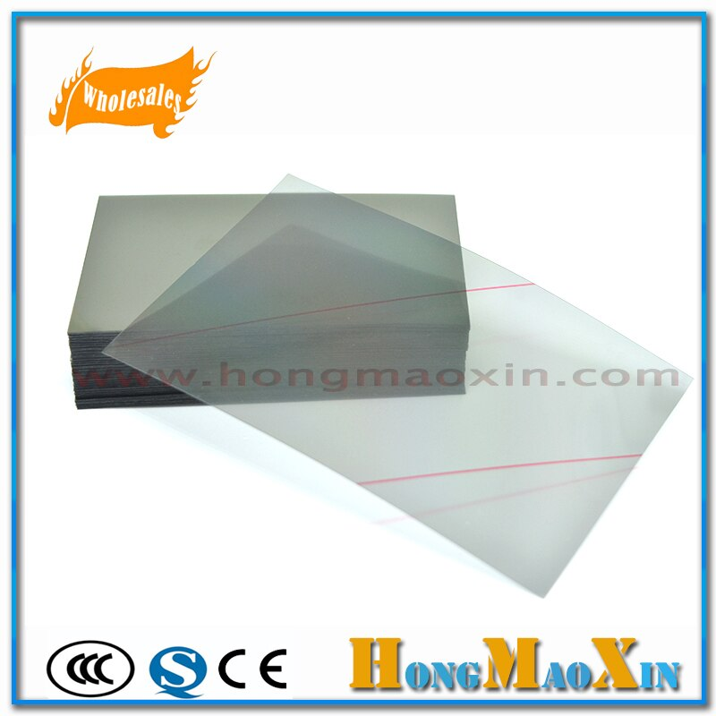 10 unids/lote polarización de película polarizador LCD de alta calidad para HUAWEI Honor 8X 8xmax /Honor Play/10/7X/5X V10 H500 pieza de repuesto
