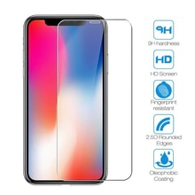 Tempered Glass For iPhone XR XS 11 12 Pro MAX 12mini Screen Protector Protective Film For iPhone 5 5