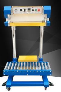 QF-600L пневматический упаковщик полиэтиленовой пленки мешок запайки риса, удобрения мешок машина мешок еды автоматическая машина запечатыва...