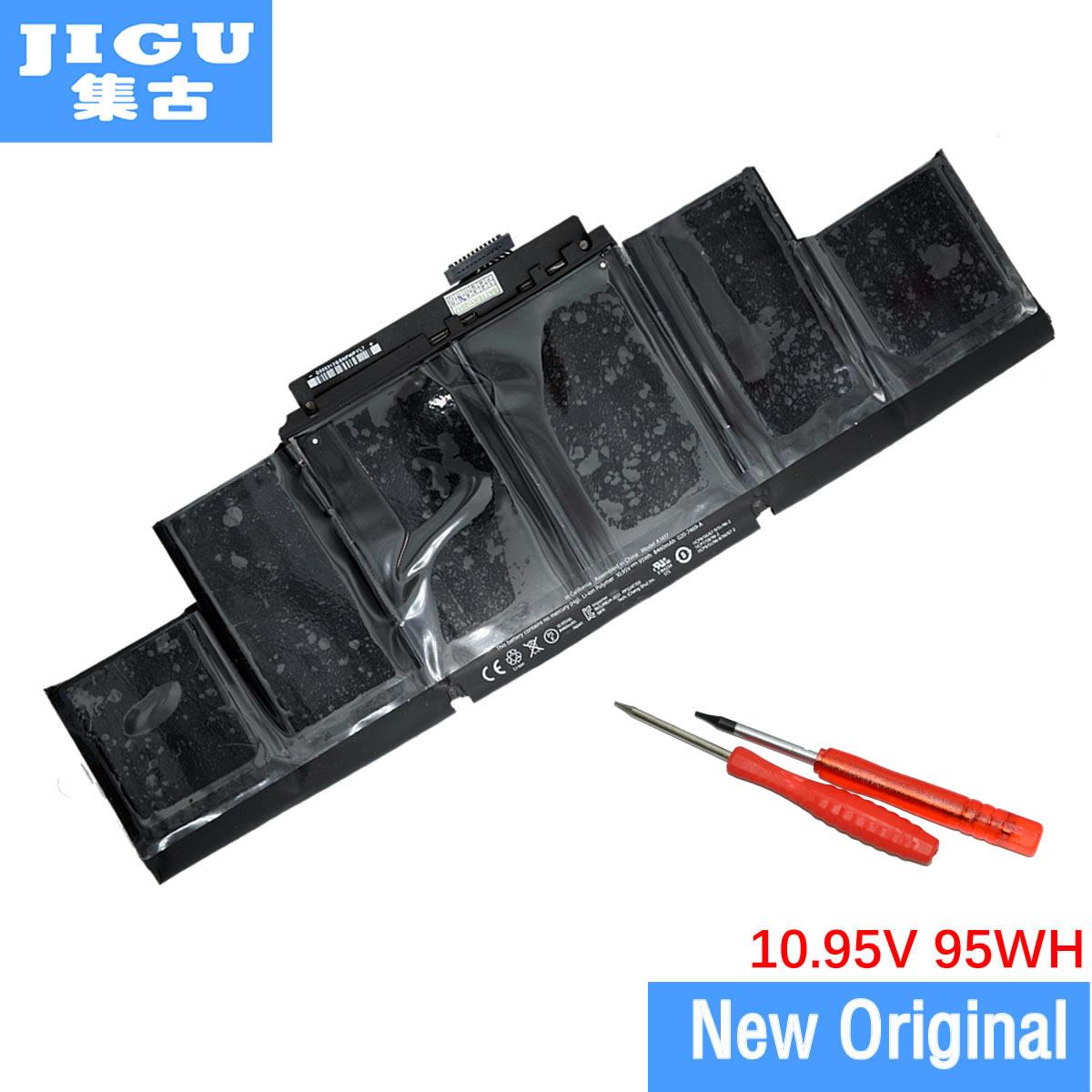 JIGU-بطارية كمبيوتر محمول A1417 ، لجهاز APPLE MacBook Pro 15